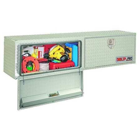 Topside Truck Box, Aluminum, 17x72x15