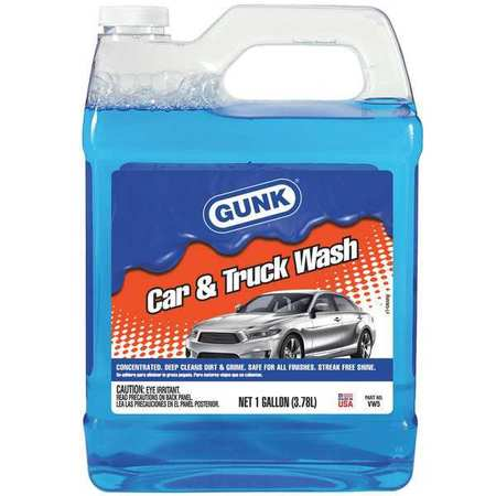 Car Wash Liquid Conc., 1 Gallon, Bottle