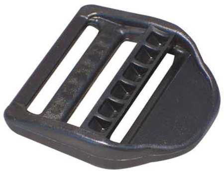 Slide Bar Buckle, 1-1/2 In., Plastic, PK25
