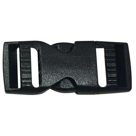 Side Squeeze Buckle, 3/4 In., Plastic, PK10