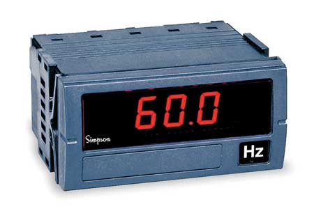 Digital Panel Meter, Frequency