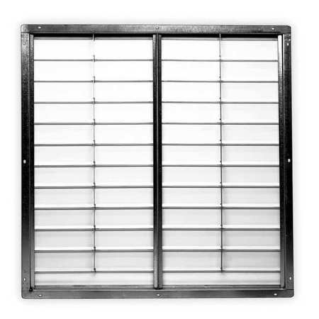 Shutter, Exh, 48 In, dbl Pannel, White PVC