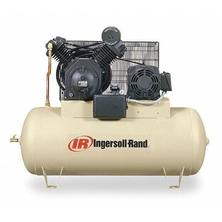 Electric Air Compressor, 2 Stage,  28.1cfm