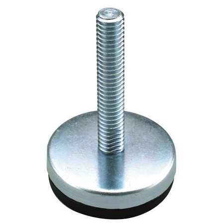 Level Mount, Fixed Stud, M10, 2-13/32 in.