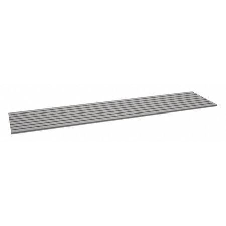 Decking, Corrugated Steel, 96in, 24in