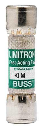 1-1/2A Fast Acting Melamine Midget Fuse 600VAC/DC