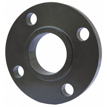 "3/4"" Welded Black Steel Slip On Flange"
