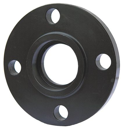 "1-1/4"" Black Steel Socket Welded Flange"