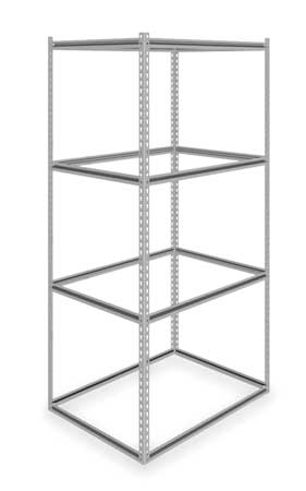 Records Storage Rack, 4 Level, H 84, W 42
