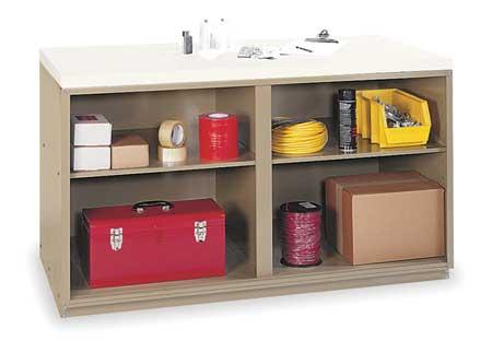 Workbench, Cabinet,  Top Width 60 In.