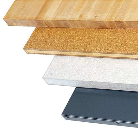 Workbench Top, Butcher Block, 60x30 in.