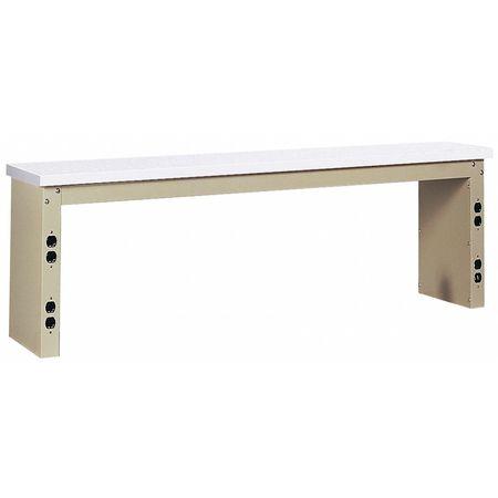 Shelf Riser, 60 W x 15 D x 18 in. H, Putty