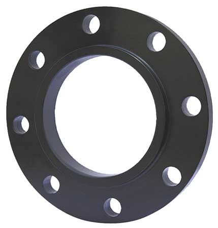 "5"" NPT Black Steel Threaded Flange"