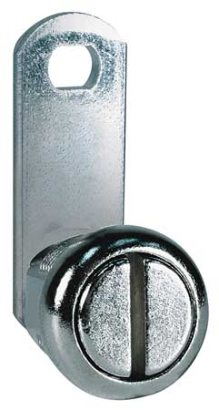 Slotted Keyless Cam Lock,  Key Non-Keyed