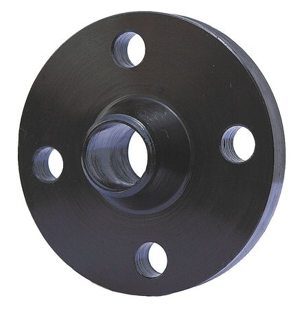 "1-1/2"" Black Steel Welded Neck Flange"