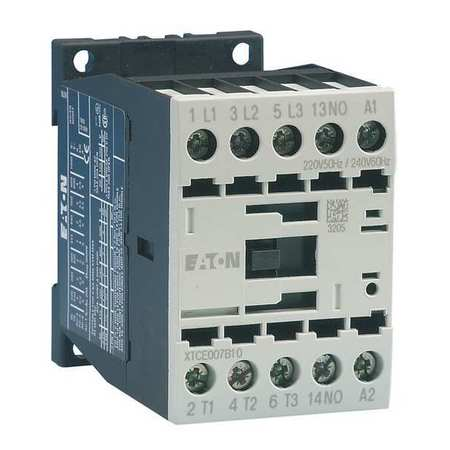 IEC Magnetic Contactor, 24VDC, 7A, 1NC