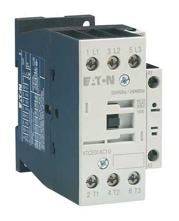 IEC Magnetic Contactor, 240VAC, 18A, 1NO, 3P