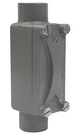 Conduit Outlet Body, Aluminum, C