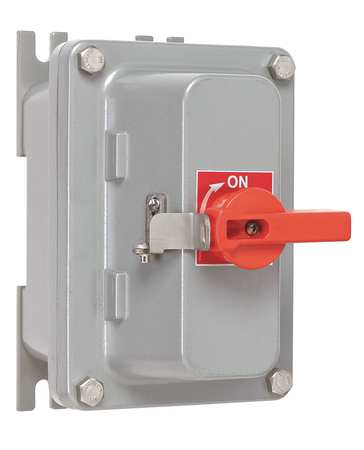 600 Single Throw Hazard Safety Switch 3P