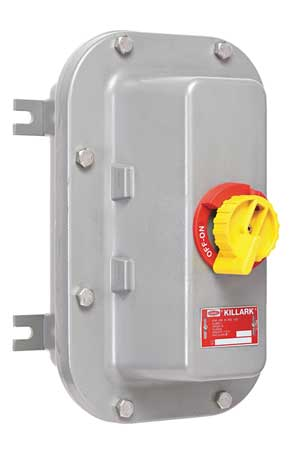 60 Amp 600VAC Single Throw Hazard Safety Switch 3P