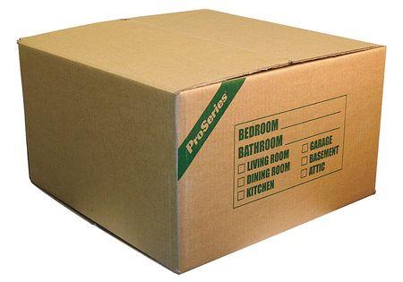 Medium Printed Moving Box,  Min. Qty 16