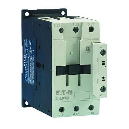 IEC Magnetic Contactor, 120VAC, 50A, 3P