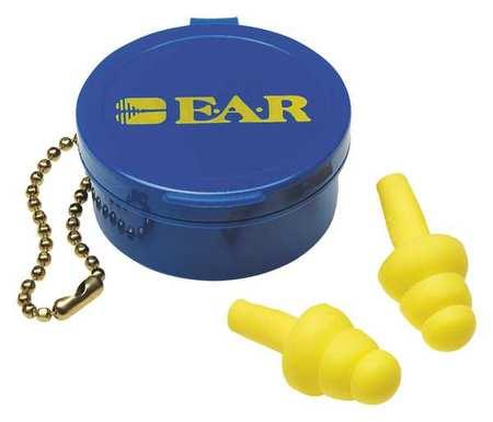 Reusable Ear Plugs, 25dB, Cordless, Univ, PR