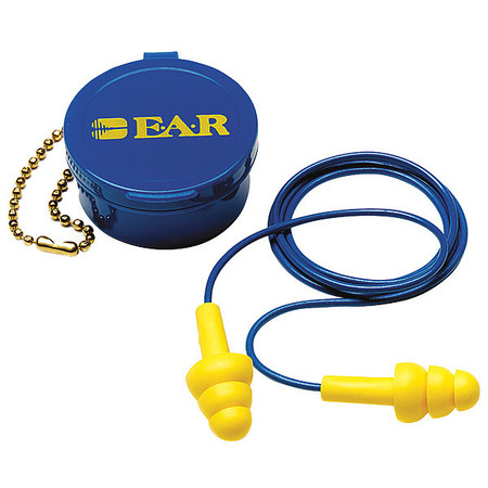 Reusable Ear Plugs, 25dB, Corded, Univ, PR