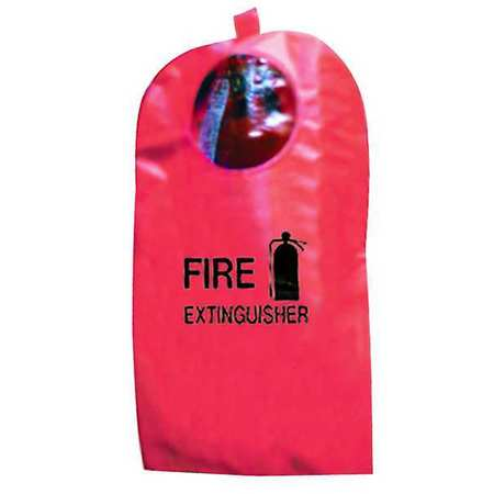 Fire Extinguisher Cover w/Window, 5-10 lb