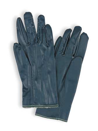 Nitrile Coated Gloves, S/M, Blue, PR