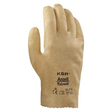 Coated Gloves, 8/M, Tan, PR