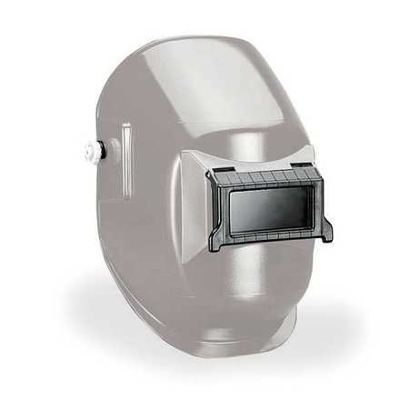 Welding Helmet, Shade 10, Silver