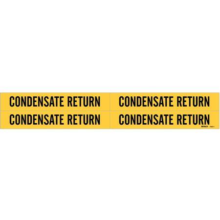 Pipe Mrkr, Condensate Return, 3/4to2-3/8In