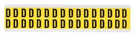 Letter Identification Card, D, PK32