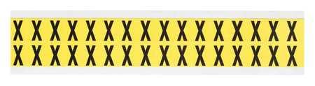 Letter Identification Card, X, PK32