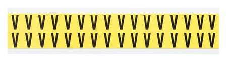 Letter Identification Card, V, PK32