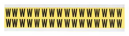 Letter Identification Card, W, PK32