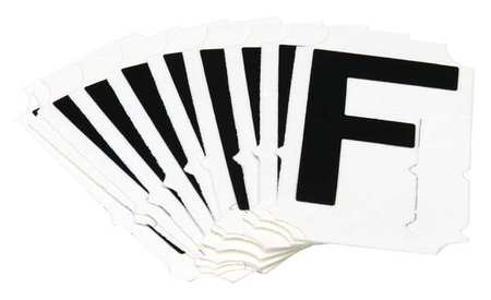 Letter Identification Card, F, PK10