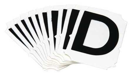 Letter Identification Card, D, PK10