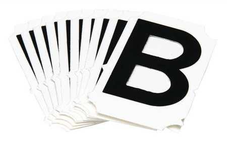Letter Identification Card, B, PK10