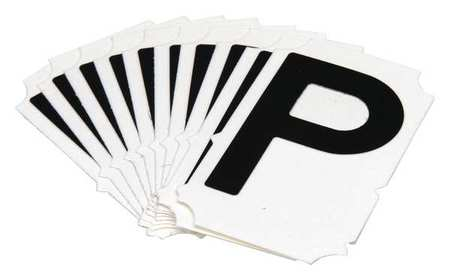 Letter Identification Card, P, PK10