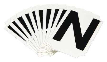 Letter Identification Card, N, PK10