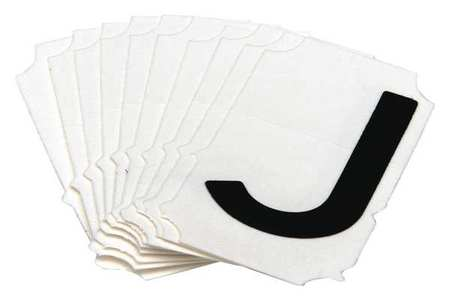 Letter Identification Card, J, PK10