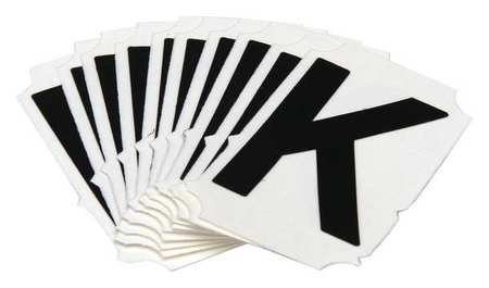 Letter Identification Card, K, PK10