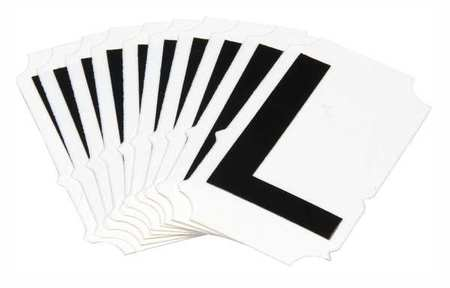 Letter Identification Card, L, PK10