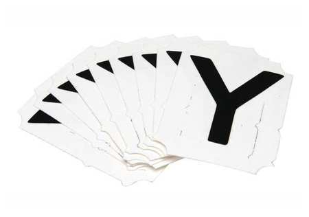Letter Identification Card, Y, PK10