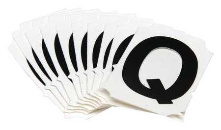 Letter Identification Card, Q, PK10