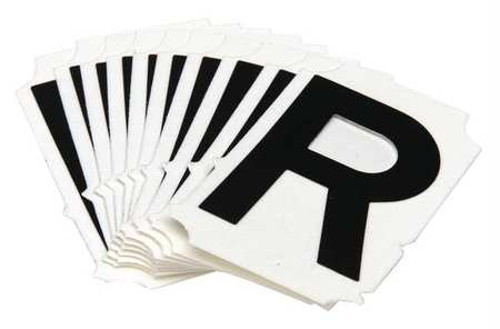 Letter Identification Card, R, PK10