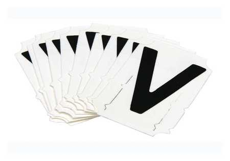 Letter Identification Card, V, PK10