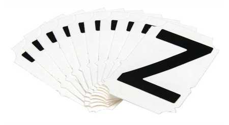 Letter Identification Card, Z, PK10